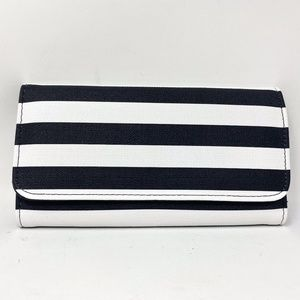 Kut from the Kloth Black and White Slim Wallet NWT